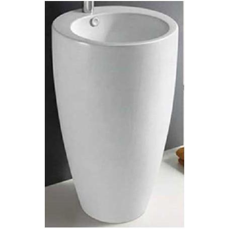 Samostojeći keramički umivaonik Madelyn 490x490x820 mm