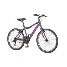 Ženski bicikl North Explorer 26″ crno-ljubičasti