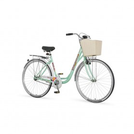"Gradski bicikl Diamant Venssini 28"" pastilno zeleni"