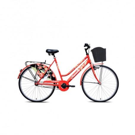 """Gradski bicikl Jasmin 28"""" - crveni"""