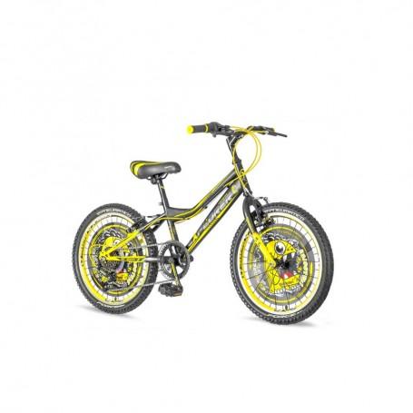 """Dječji bicikl Rhino 204 Explorer 20"""" crno žuti"""