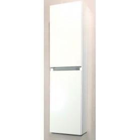 Glory 100 side bathroom cabinet white gloss