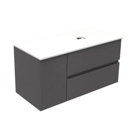 Poise lower bathroom cabinet 100 lino