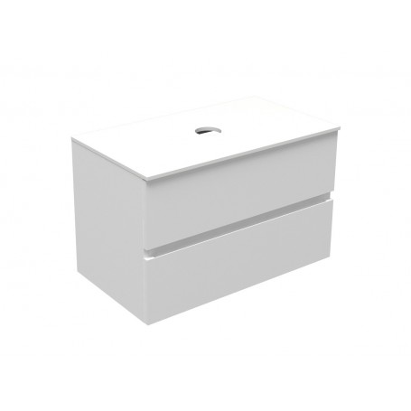 Poise lower bathroom cabinet 80 lino