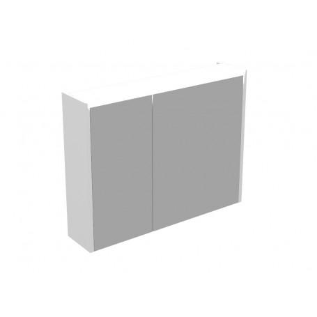 Brim 80 upper bathroom cabinet white matt