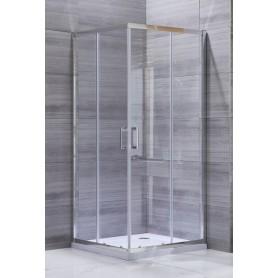 TK Silver Line 90 KV square shower cabin 90x90x195cm
