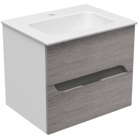 Mia 60 lower bathroom cabinet gray mara