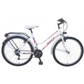 """Bicikl Dinamic Bolt 21-br-grip,ženski,26"""",ctb oprema,bijelo-ružičasti"""
