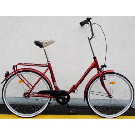 """Bicikl SPRING-MAXI PONY,nožna kočnica torpedo/velosteel,24"""",Velosteel,crveni - C"""