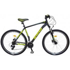 "Bicikl Spring Rapid 29"",P.amor/lockout,S/hidr. disk,21-BRS/rapid fire,crno/žuti,vel/XL(21"") - C"