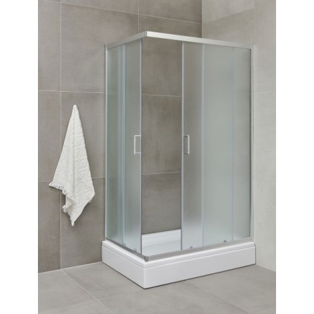 Frost 80100 rectangular shower with bathtub