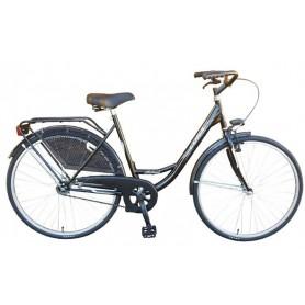 "Bicikl ""DINAMIC-LUNA"" nožna kočnica/v-brake,26""x13/8,ženski,CTB oprema,crni"