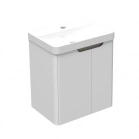 Veil 40 donji kupaonski ormarić bijeli mat