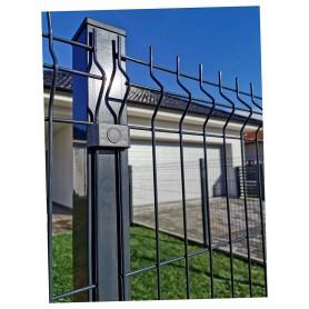Klasik stup za panel ogradu  H: 1,58 m sa pločicama