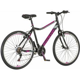 Ženski bicikl North Explorer 26″ crno-ljubičasti-sivi