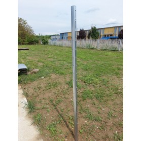 galvanized pole for vineyard - h 2500 mm extra