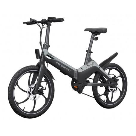 MS Energy e-bike i10 black grey crno siva