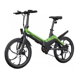 MS Energy e-bike i10 crno zeleno black green