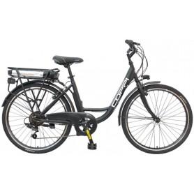 """Bicycle """"COPPI"""" 26 """"ctb, electric, v-brake, 6 / BR / Shimano, 36V / 250W / 7,8Ah"""