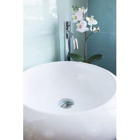 Skylar surface-mounted ceramic washbasin 485x485x120 mm