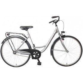 """Dinamic-Luna"" foot brake / v-brake, 26 ""x13 / 8, female, ctb equipment, gray"