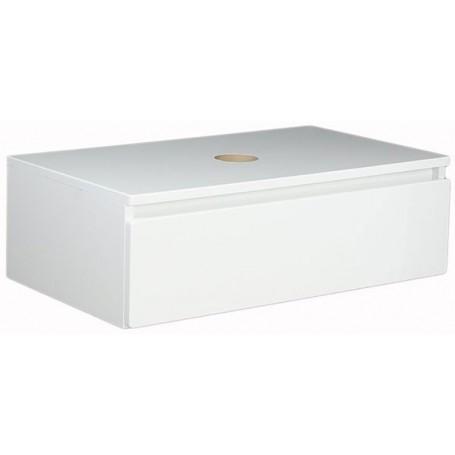 Elegant 60 gornji kupaonski ormarić bijeli sjaj