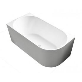 Eclipse 180 wall bathroom bathtub left 180x82x61 cm