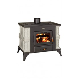 Prity K1 RK wood stove with terracotta