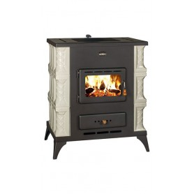 Prity K2 RK wood stove with terracotta