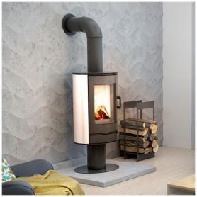Wood stove Koza KOZA/AB/S/N/DR/KAFEL/BIALY