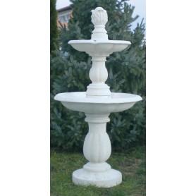 Fountain d 70 cm, h 160 cm, w 158 kg