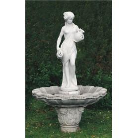 Fountain h 225 cm, d 125 cm,  w 345 kg