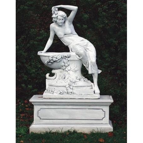Statue h 140 cm, fi 90 cm, w  370 kg