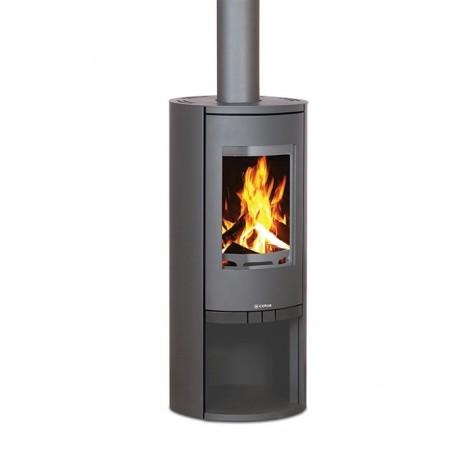 Kaminska peć G1 Ronde SD sa čeličnim bočnicama