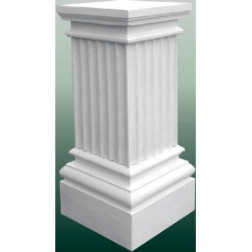 Pedestal 40x40/30x30cm, h 100 cm, w 140kg