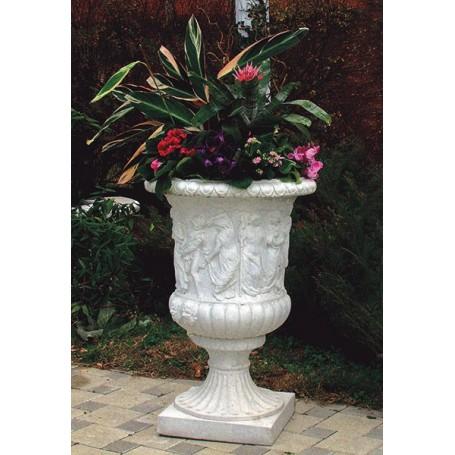 Concrete Vase in 90 cm, 62 cm o w 120 kg
