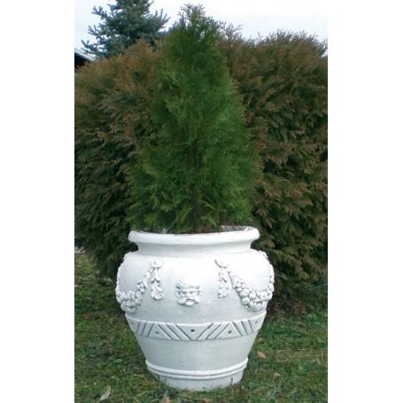 Concrete Vase 50x61x61 cm, w 140 kg