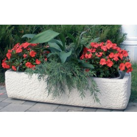 Jardiniere in 24 cm, l 100 cm, with 31 cm, 75 kg w