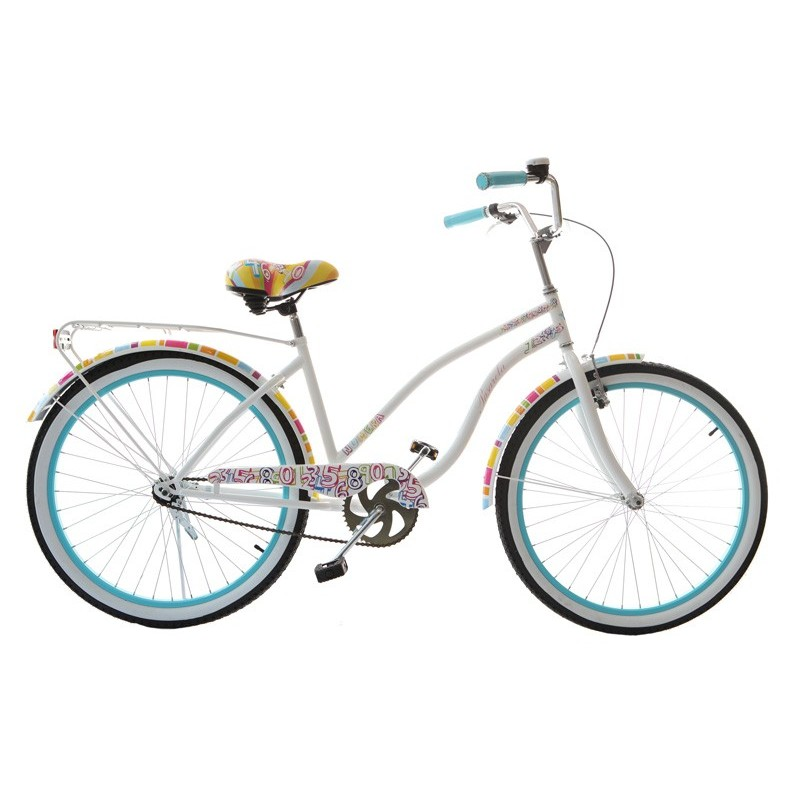 Women Bicycle Cruiser Funny 26 Inches