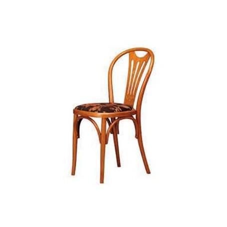 Drvena stolica Bistro 4