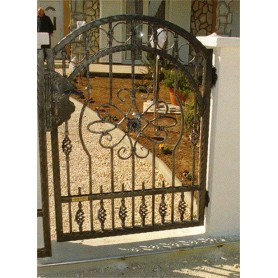 Kovana ograda-pješački ulaz Apolon