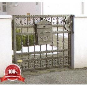 Kovana ograda-pješački ulaz Delfi