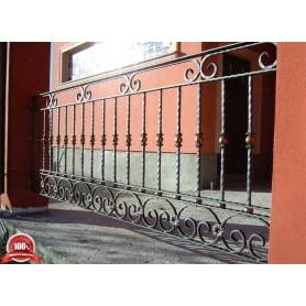 Kovana ograda galerije Santorini