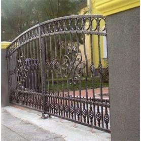 Kovana ograda-kolni ulaz Olimpia