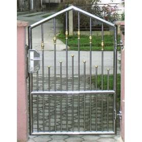 Ograda od inoxa Onazis-pješački ulaz