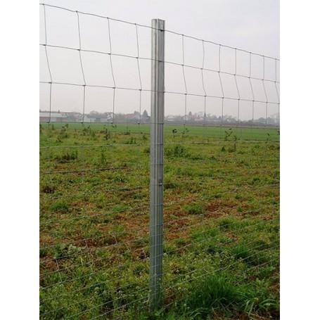 Metalni pocinčani stup za ogradu-v 1600 mm