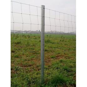 Metalni pocinčani stup za ogradu-v 2200 mm