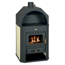 Prity W17 fire stove for central heating