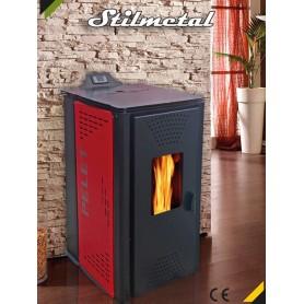 Kaminska peć na pelet Stilmetal 15kW za centralno grijanje