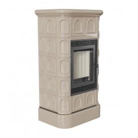 Blanka ceramic 8-KAFEL/K kalijeva peć krem